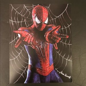 Spiderman Amazing Marvel Superhero Fan Art Comic